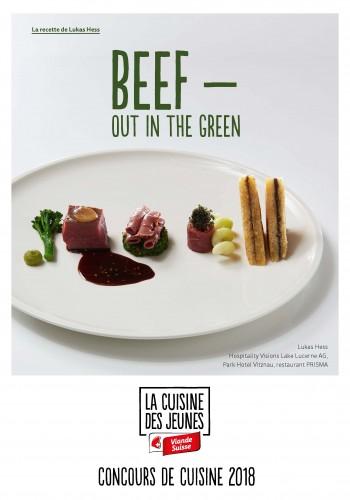 Le menu de Lukas Hess