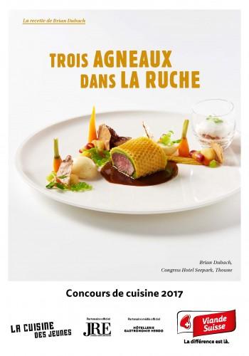 Le menu de Brian Dubach