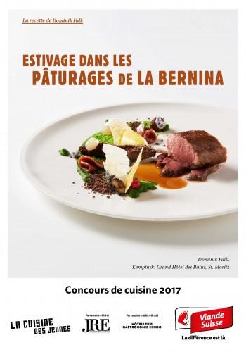 Le menu de Dominik Falk