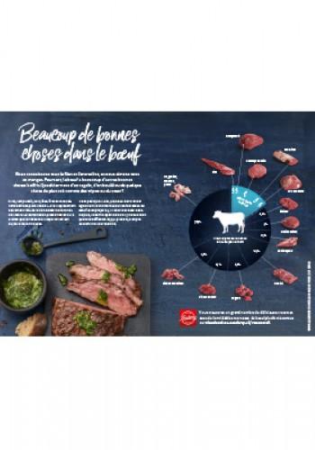 Affiche – Beaucoup de bonnes choses dans le bœuf