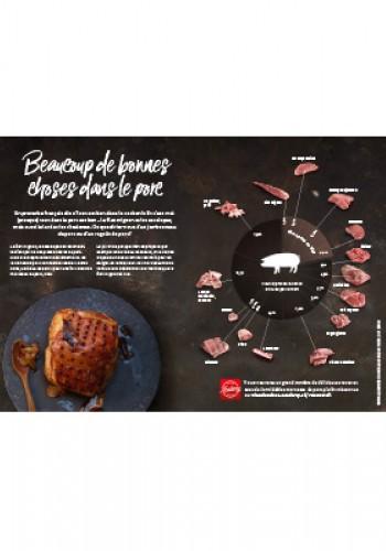 Affiche – Beaucoup de bonnes choses dans le porc