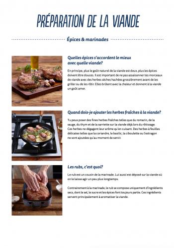 Préparation de la viande - Épices & marinades